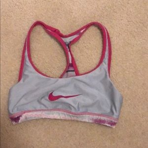 Reversible mike sports bra small